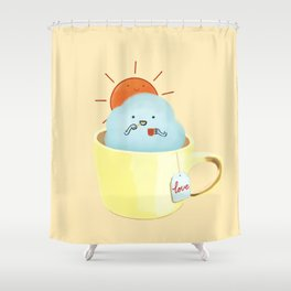 A Beautiful Day Begin Shower Curtain