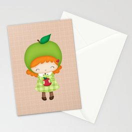 Mademoiselle Pomme Stationery Cards