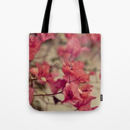 Red Flowers #2 Tote Bag