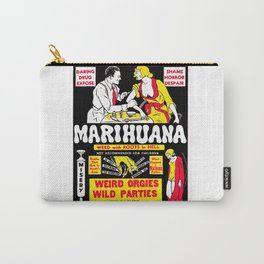 Marijuana Poster (Reefer Madness) Carry-All Pouch
