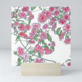Wild Rose Bush Mini Art Print