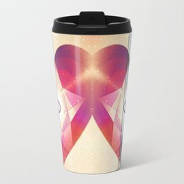 Tri-Color Jewish Star Of Protection Travel Mug