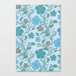 Dotty mosaic pattern Canvas Print