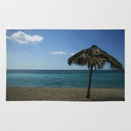 Caribean beach Rug