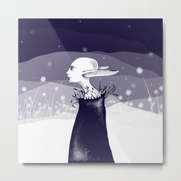 elf in the night Metal Print