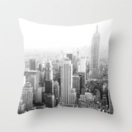 NY Minute Throw Pillow