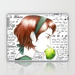 Jo March - Little Women Laptop & iPad Skin