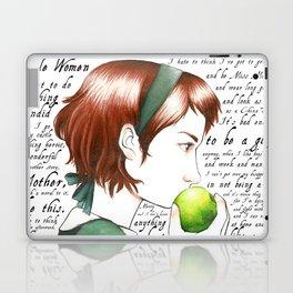 Jo March - Little Women Laptop & iPad Skin
