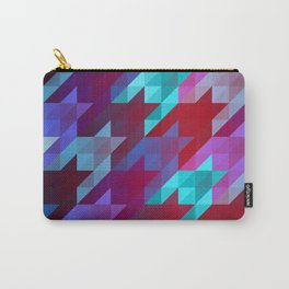 gradient origami houndstooth Carry-All Pouch