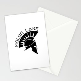 molon labe Stationery Cards