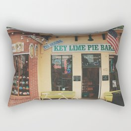 The Original Key Lime Pie Bakery Rectangular Pillow