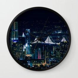 San Francisco lights Wall Clock