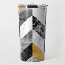 Marble Pattern Travel Mug