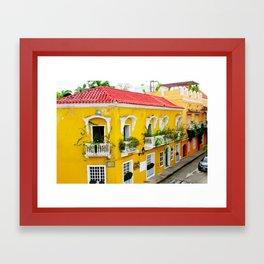 City of Cartagena Framed Art Print