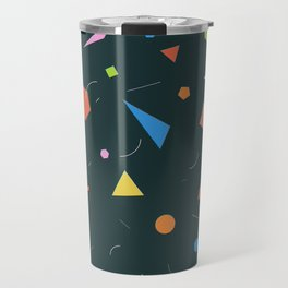Polygon Soup Travel Mug