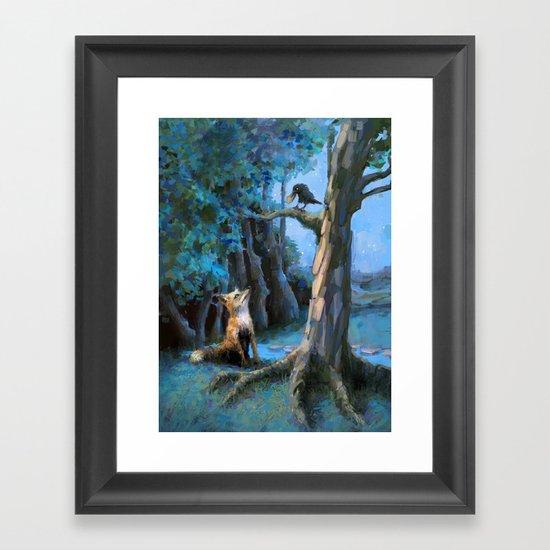 Swindle Framed Art Print