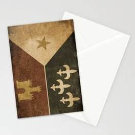 Acadian Flag Stationery Cards