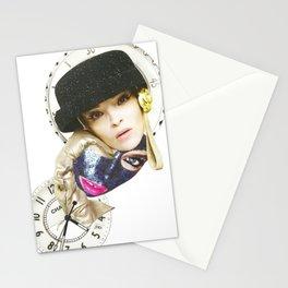 Papercollage Fashion Time by Lenka Laskoradova Stationery Cards