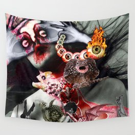 Lucifer Ascending Wall Tapestry