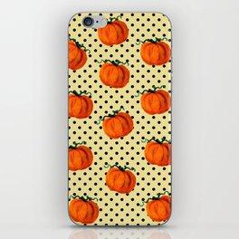 Cascading Pumpkins iPhone Skin
