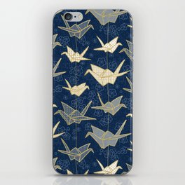 Sadako's Good Luck Cranes iPhone Skin