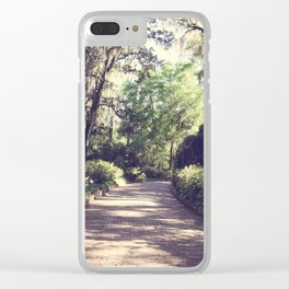 Southern Beauty 2 Clear iPhone Case