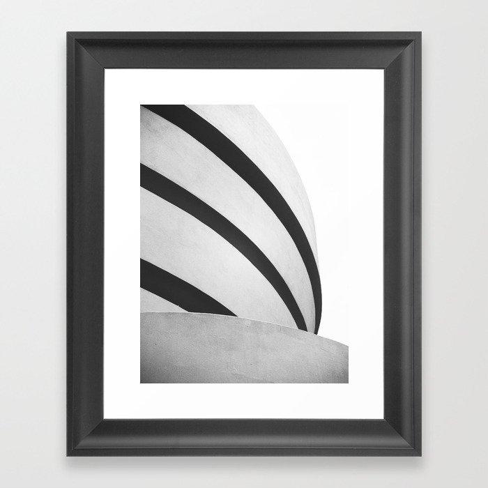Guggenheim Shapes Framed Art Print