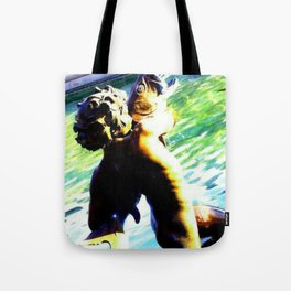 Fountain of the Centaurs at Missouri Capitol Tote Bag