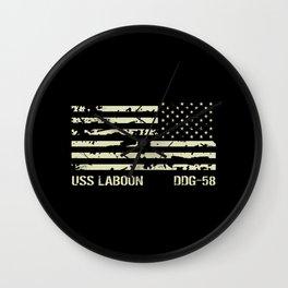 USS Laboon Wall Clock