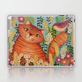 Cat in Love Laptop & iPad Skin