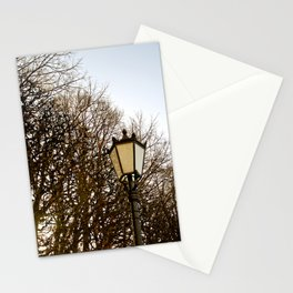 Lamppost Melodies  Stationery Cards