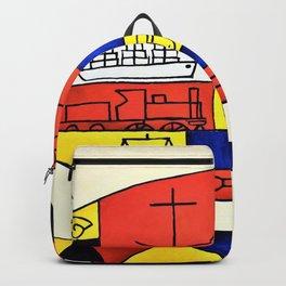 El Pez - Joaquin Torres Garcia Backpack
