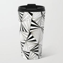 Party Triangles Travel Mug