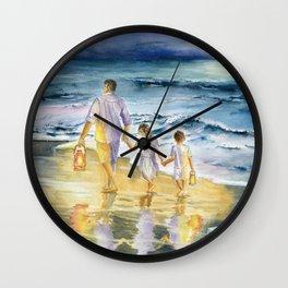 Summer Vacation Memory Wall Clock
