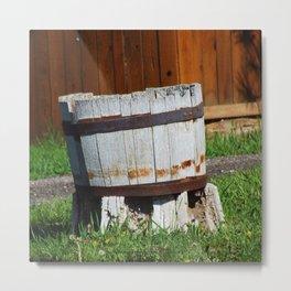 Old Barrel - Jeronimo Rubio Photography 2016 Metal Print