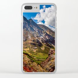 Autumn colors of the old Volсano Clear iPhone Case