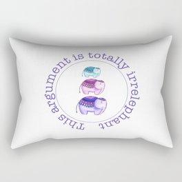 Totally Irrelephant Rectangular Pillow