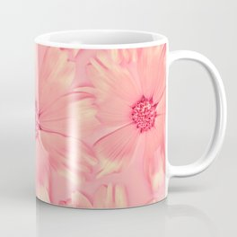 Pink Daisies | Daisy Flowers, Pastel Pink, Real Flowers, Pressed Flowers, Sweet, Pretty, Floral Photo Coffee Mug
