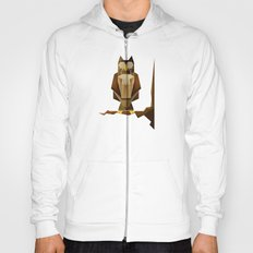 Owl riffic paper cutout vector jazz Hoody