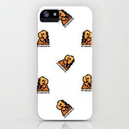 Proud Parent of Golden Retriever Boy - Pattern Version iPhone Case