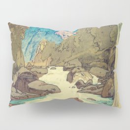 The Walk to Hokodoyama Pillow Sham
