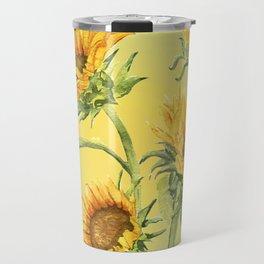Sunflowers 2 Travel Mug