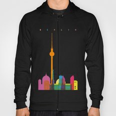 Shapes of Berlin accurate to scale Hoody