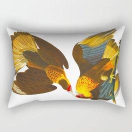 Caracara Eagle Illustration Rectangular Pillow