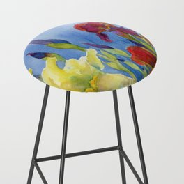 Blue Skies and Happiness Bar Stool
