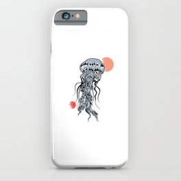 Sea Creatures Animals Marine Life Sea Jellies Sea Medusa Ocean Gift Jellyfish iPhone Case