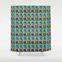 Loli 4sies: Garfield Arlene Genie Shriek Shower Curtain