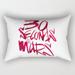 30 Seconds to Mars Rectangular Pillow