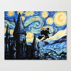 Potter Starry Night Canvas Print