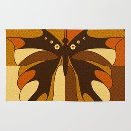 RETRO BUTTERFLY Rug